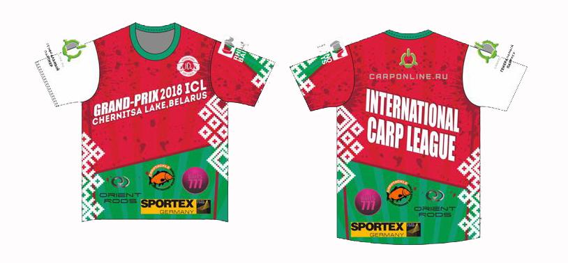 Майки GP ICL 2018